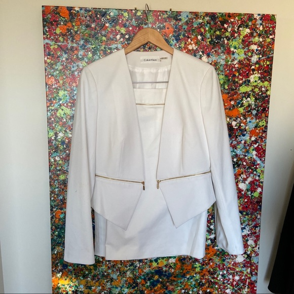 Designers skirt and jacket set by Calvin Klein